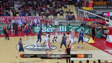 EuroLeague 2018-19 Highlights Regular Season Round 17 video: Olympiacos 91-87 Baskonia