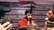Réaction de Martin Terrier suite à la défaite de l'OL en Quart de finale de la Coupe de la ligue BKT