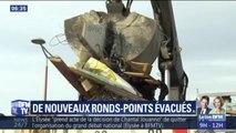 Gilets jaunes: de nouveaux ronds-points évacués dans les Alpes-Maritimes