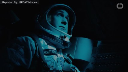 How Many Flag Appear In 'First Man'?