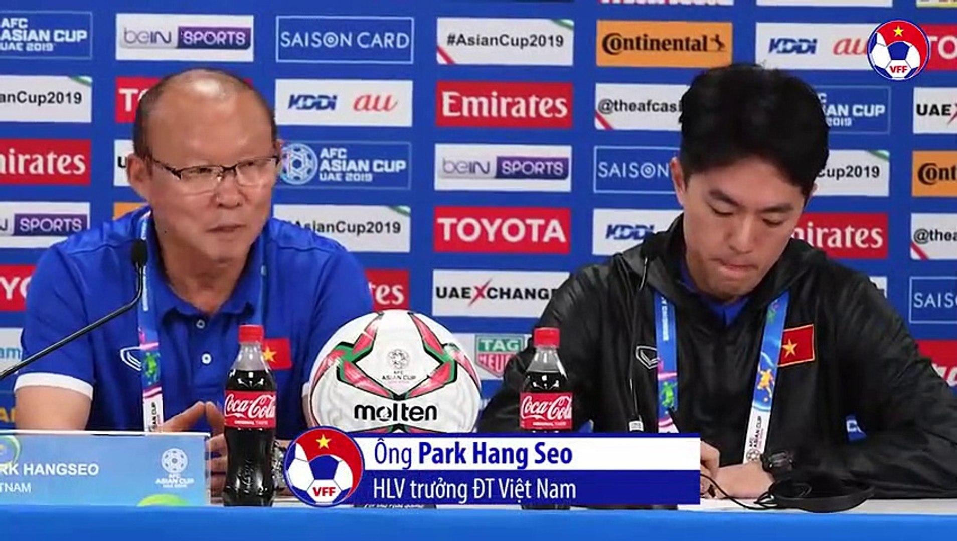 HLV Park Hang-seo tiếc nuối khi ĐT Việt Nam để thua phút cuối | VFF Channel | VFF Channel