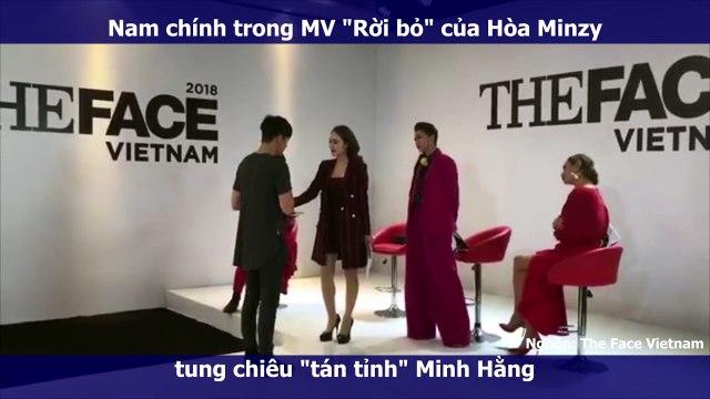 """Nam chính trong MV """"Rời bỏ"""" của Hòa Minzy tung chiêu """"tán tỉnh"""" Minh Hằng"""