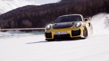 GP Ice Race - Days of Thunder – NASCAR Race car and KTM X-bow on ice and snow at Zell am See