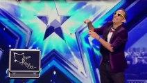 Funny Magician Does Hanky Magic on Spain's Got Talent - Magicians Got Talent