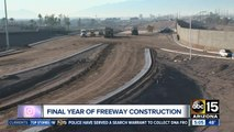 South Mountain Freeway about a year from completion