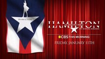 """Lin-Manuel Miranda to join """"CBS This Morning"""" live from Puerto Rico"""