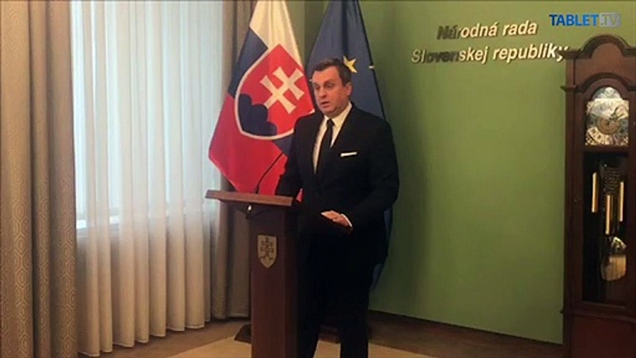 ZÁZNAM: TK predsedu NR SR A. Danka