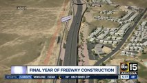 You'll be able to drive a portion of the South Mountain Freeway soon