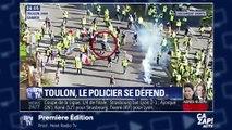 Toulon: Le commandant frappé par des «gilets jaunes» - ZAPPING ACTU DU 09/01/2019