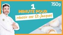 1 min pour... Cuire ses St-Jacques - 750g