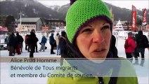 Montgenèvre : Manifestation de soutien à deux maraudeurs