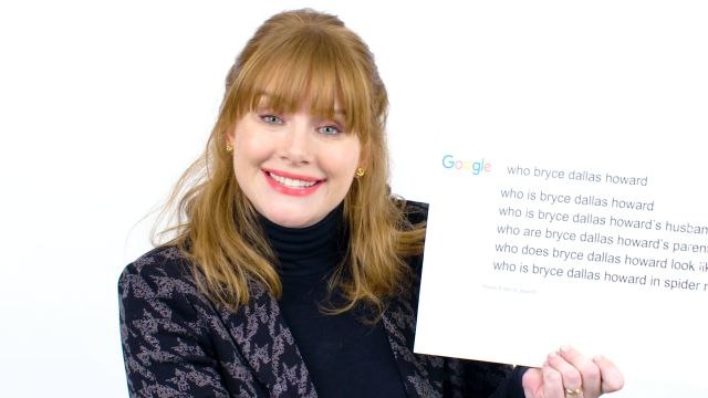 Bryce Dallas Howard Answers the Web's Most Searched Questions