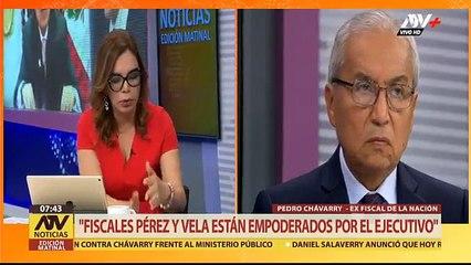 Pedro Chávarry asegura que las marchas del 31 de diciembre fueron pagadas