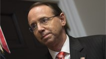 Deputy Attorney General Rod Rosenstein Poised To Leave His Post