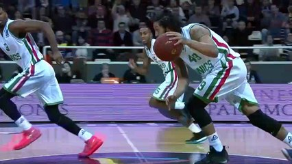 7Days EuroCup Highlights Top 16, Round 2: Andorra 86-80 UNICS