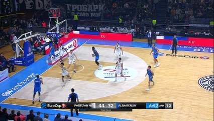 7Days EuroCup Highlights Top 16, Round 2: Partizan 78-66 ALBA