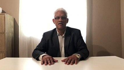 Patrick Lecante, responsable de l'eau en Guyane
