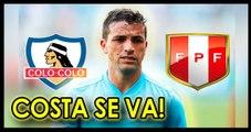 Gabriel Costa será jugador de Colo Colo en  las próximas horas