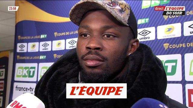 Thuram «On est venus pour gagner» - Foot - CDL - Guingamp