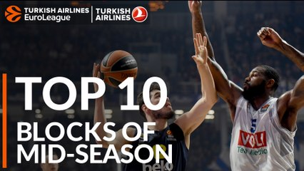 Top 10 Blocks of Mid-Season