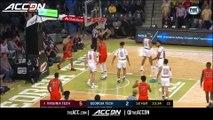 Virginia Tech vs. Georgia Tech Basketball Highlights (2018-19)