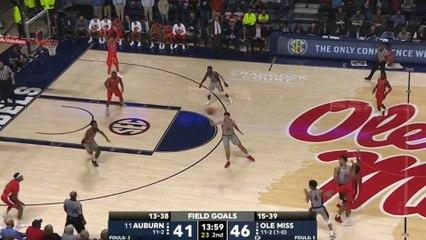 Ole Miss Knocks Off No. 11 Auburn