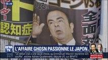 L'affaire Carlos Ghosn passionne les Japonais