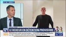 """L'avocat de l'ex-boxeur """"comprend mal"""" sa détention provisoire"""
