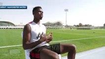 Le geste fou de Paul Pogba pendant une interview