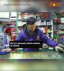 Does Jack Ma own a grocery store in China?