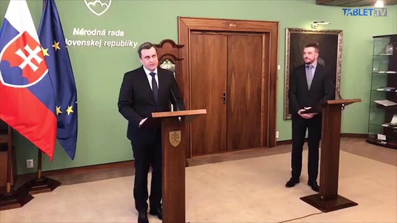 ZÁZNAM: TK predsedu NR SR Andreja Danka