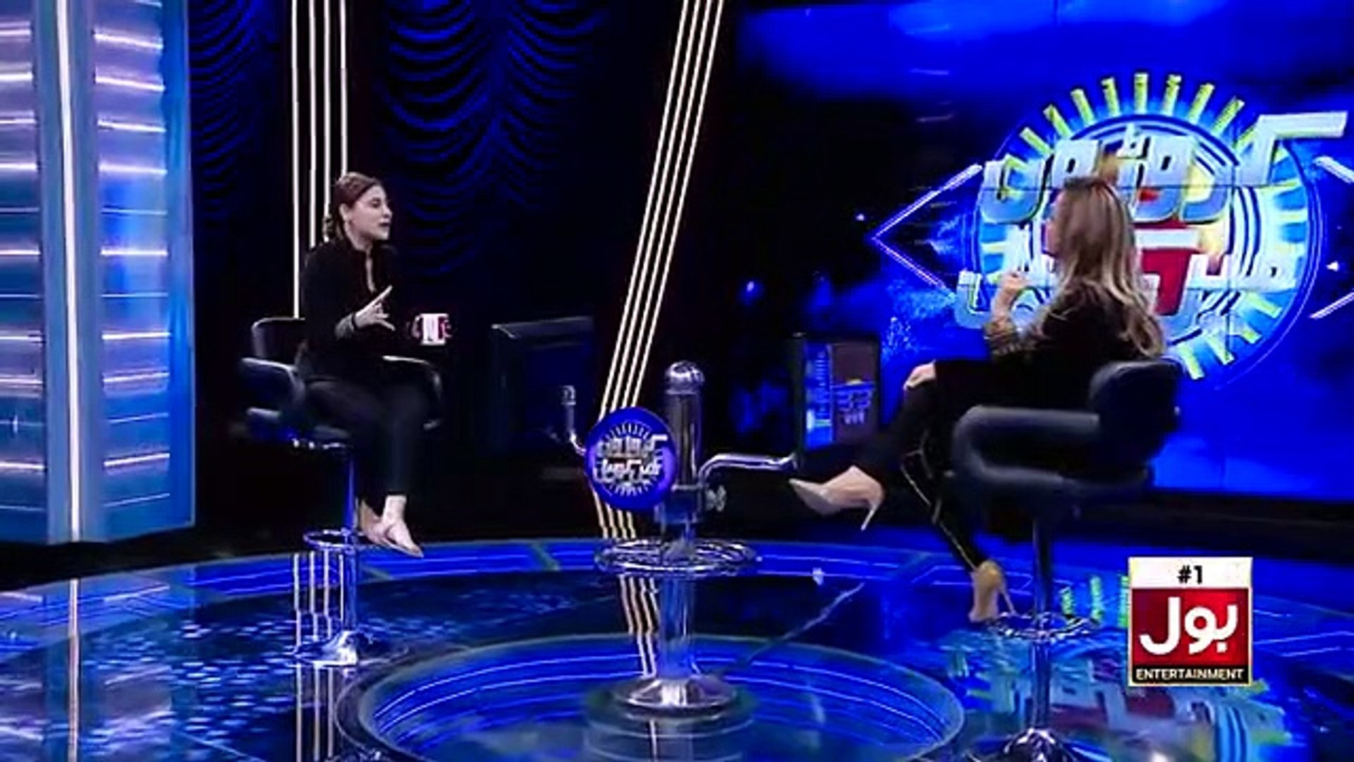 Hina Altaf in Nadia Khan Show _ Croron Mein Khel Episode 10 _ 04 January 2019 _ BOL Entertainment