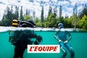 Découverte du lac Vert en apnée avec les frères Tourreau - Adrénaline - Tous sports