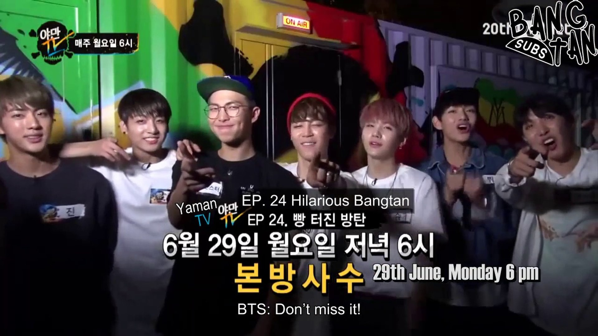 [ENG] 150624 Yaman TV - Episode 24 Preview: The one and only BTS' life entertainment! Bangtan in Yam