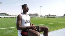 Le geste exceptionnel de Pogba en pleine interview