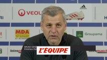 Genesio «Lucas Tousart n'est toujours pas rétabli» - Foot - L1 - OL