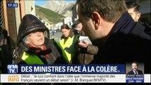 À une semaine du débat national, Sébastien Lecornu et Jean-Michel Blanquer ont été interpellés dans les Hautes-Alpes