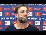 Jurgen Klopp Full Pre-Match Press Conference - Wolves v Liverpool - FA Cup