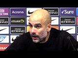 Manchester City 9-0 Burton - Pep Guardiola Full Post Match Press Conference - Semi-Final 1st Leg