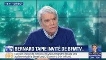 """Bernard Tapie évoque son cancer: """"ce qui me donne envie d'être en vie, c'est le procès qui démarre le 15 mars"""""""