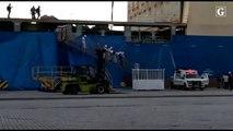 Tripulante morre em acidente em navio no Porto de Vitória