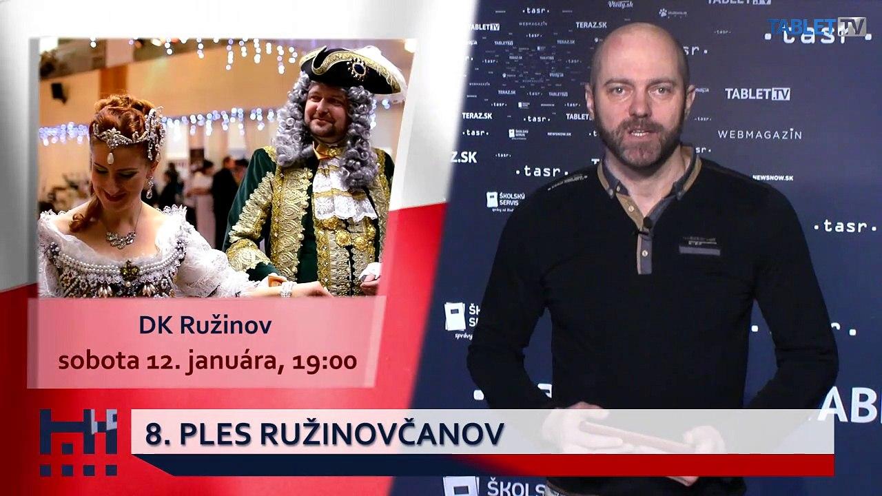 POĎ VON: Novoročný koncert a Ples Ružinovčanov