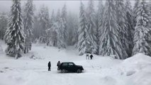 2019 kicks off with extreme weather as heavy snow blankets large parts of Europe