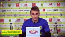Valentin Rongier avant FC Nantes - Rennes