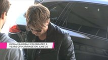 """Keith Urban's fans sent him and Nicole Kidman a """"beautiful"""" anniversary message"""