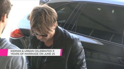 "Keith Urban's fans sent him and Nicole Kidman a ""beautiful"" anniversary message"