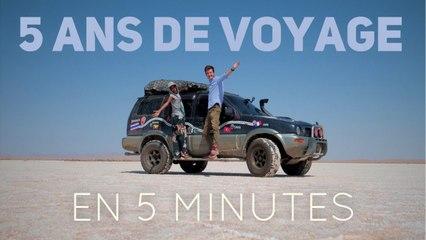 5 ans de voyage #tourdumonde