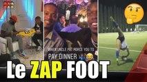 POGBA invite EVRA, MBAPPÉ et LeBron James, HOMMAGE à RONALDINHO... le ZAP FOOT
