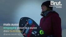 Anne-Flore Marxer, snowboardeuse engagée pour l'égalité