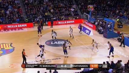EuroLeague 2018-19 Highlights Regular Season Round 18 video: Barcelona 79-68 Panathinaikos